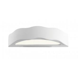 LAMPEX 014/D | Ceramic Lampex zidna svjetiljka 1x E27 bijelo