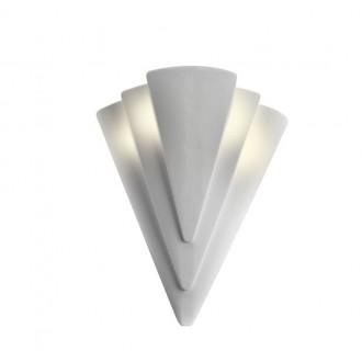 LAMPEX 014/H | Ceramic Lampex zidna svjetiljka 1x E27 bijelo