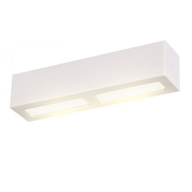 LAMPEX 026/40B | Adera Lampex zidna svjetiljka 1x E27 bijelo