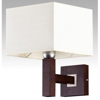 LAMPEX 042/K WEN | Karmen Lampex zidna svjetiljka 1x E14 venga, bijelo