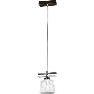 LAMPEX 128/1 WEN | Alicente Lampex visilice svjetiljka 1x E27 venga, krom, bijelo