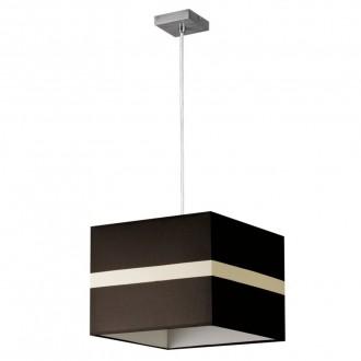 LAMPEX 131/1 SAT | Linea-LA Lampex visilice svjetiljka 1x E27 krom, venga, bijelo