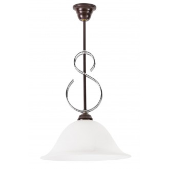 LAMPEX 265/Z | Lampex-Pendant Lampex visilice svjetiljka 1x E27 venga, alabaster