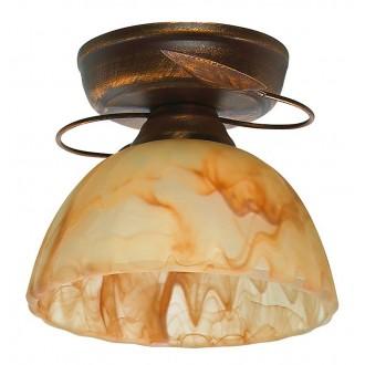 LAMPEX 444/A B+M | Lampex-Pendant Lampex stropne svjetiljke svjetiljka 1x E27 antik crveni bakar, jantar