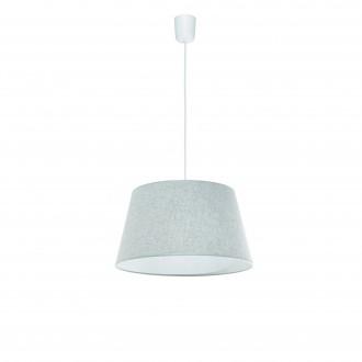 LAMPEX 456/D | Lampex-Pendant Lampex visilice svjetiljka 1x E27 sivo, bijelo