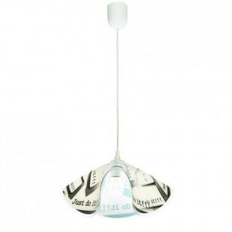 LAMPEX 465/B | Lampex-Pendant Lampex visilice svjetiljka 1x E27 bijelo, u bojama