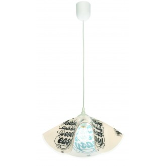 LAMPEX 465/E | Lampex-Pendant Lampex visilice svjetiljka 1x E27 bijelo, u bojama