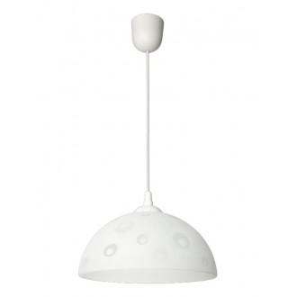 LAMPEX 588/F | Lampex-Pendant Lampex visilice svjetiljka 1x E27 bijelo