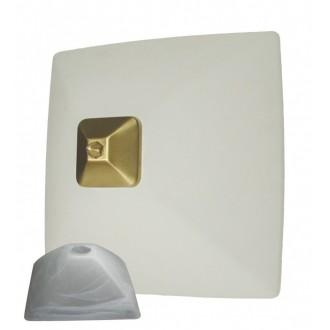 LEMIR 005/K2 K_7 | Krzyzak Lemir zidna, stropne svjetiljke svjetiljka 1x E27 kromni mat, bijelo