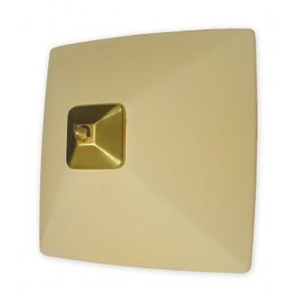 LEMIR 005/K2 K_8 | Krzyzak Lemir zidna, stropne svjetiljke svjetiljka 1x E27 bronca, krem