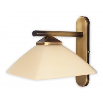 LEMIR 970/K1 | Krzyzak Lemir zidna svjetiljka 1x E27 bronca, krem