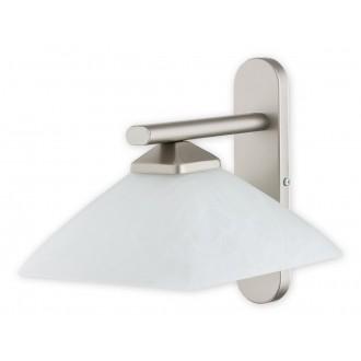 LEMIR 970/K1 SAT | Krzyzak Lemir zidna svjetiljka 1x E27 kromni mat, bijelo
