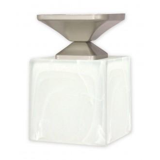 LEMIR O1061/W1 SAT | KostkaSAT Lemir stropne svjetiljke svjetiljka 1x E27 kromni mat, alabaster