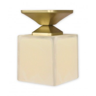 LEMIR O1061/W1 ZL | KostkaZL Lemir stropne svjetiljke svjetiljka 1x E27 zlatno, krem