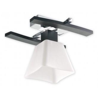 LEMIR O1471 WG | Dreno Lemir stropne svjetiljke svjetiljka 1x E27 krom, venga, bijelo