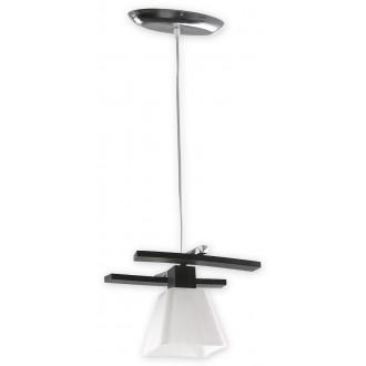 LEMIR O1477 WG | Dreno Lemir visilice svjetiljka s mogućnošću skraćivanja kabla 1x E27 krom, venga, bijelo