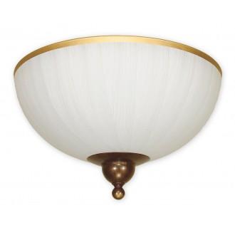 LEMIR O1481 BR   FlexL Lemir stropne svjetiljke svjetiljka 2x E27 smeđe, antik zlato , bijelo
