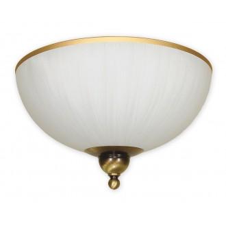 LEMIR O1481 PAT | FlexL Lemir stropne svjetiljke svjetiljka 2x E27 bronca, bijelo