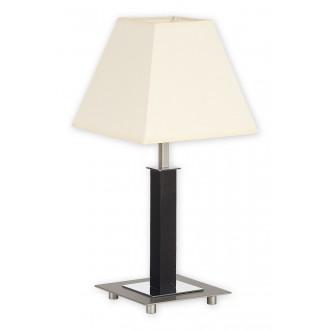 LEMIR O1688M WG | Inari Lemir stolna svjetiljka 43cm s poteznim prekidačem 1x E27 krom, krom saten, venga