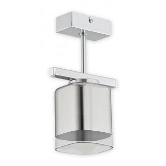 LEMIR O2311 P1 CH | Savia Lemir stropne svjetiljke svjetiljka 1x E27 krom, prozirno