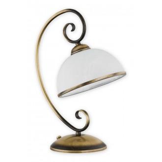 LEMIR O2498 L1 PAT | Indra Lemir stolna svjetiljka 38cm 1x E27 patinasto