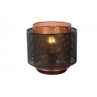 LUCIDE 02504/01/30 | Orrin Lucide stolna svjetiljka 160cm 1x E27 crno, smeđe