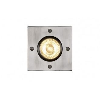 LUCIDE 11800/01/12 | Biltin Lucide ugradbena svjetiljka 108x108mm 1x GU10 IP67 krom