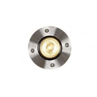 LUCIDE 11801/01/12 | Biltin Lucide ugradbena svjetiljka Ø108mm 108x108mm 1x GU10 IP67 krom