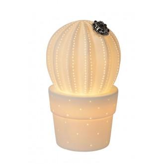 LUCIDE 13524/01/31 | Cactus Lucide stolna svjetiljka 22,7cm 1x E14 bijelo