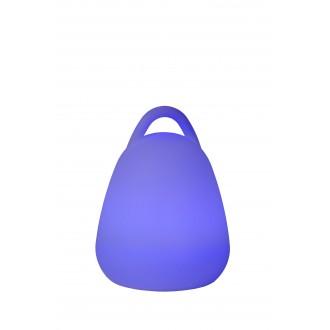 LUCIDE 13807/24/61 | Toby Lucide dekoracija svjetiljka daljinski upravljač promjenjive boje 6x LED RGBK IP54 bijelo