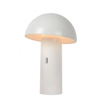 LUCIDE 15599/06/31 | Fungo Lucide stolna svjetiljka 25,5cm 1x LED 3000K bijelo