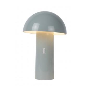 LUCIDE 15599/06/36 | Fungo Lucide stolna svjetiljka 25,5cm 1x LED 3000K sivo