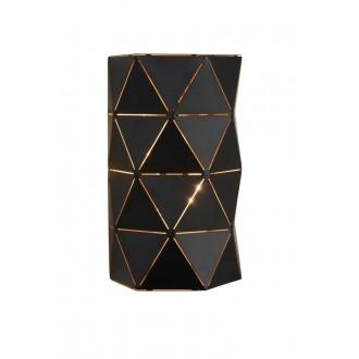 LUCIDE 21209/02/30 | Otona Lucide zidna svjetiljka 2x E14 crno