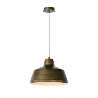 LUCIDE 21414/35/03 | Naut Lucide visilice svjetiljka s mogućnošću skraćivanja kabla 1x E27 crno, bronca