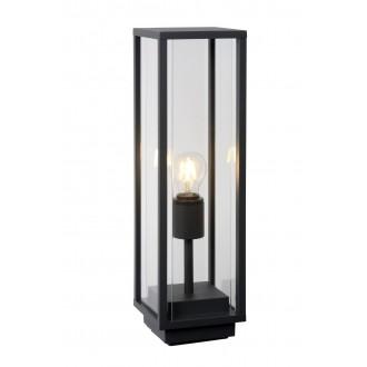 LUCIDE 27883/50/30 | ClaireL Lucide stolna svjetiljka 50cm 1x E27 IP54 crno, prozirno