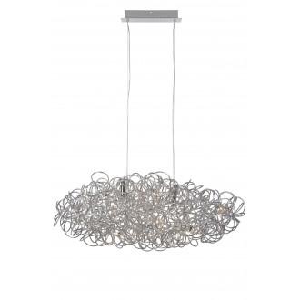LUCIDE 31476/48/11 | GalileoL Lucide visilice svjetiljka s mogućnošću skraćivanja kabla 12x G9 4560lm 2700K krom