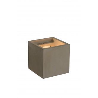 LUCIDE 35208/01/41 | Gipsy-LU Lucide zidna svjetiljka može se bojati 1x G9 beton
