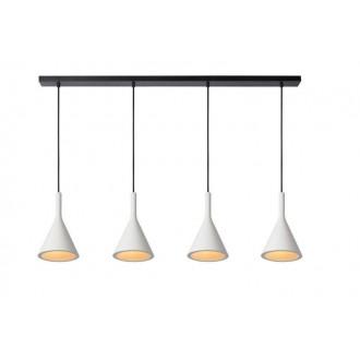 LUCIDE 35410/04/31 | Gipsy-LU Lucide visilice svjetiljka može se bojati 4x E27 bijelo