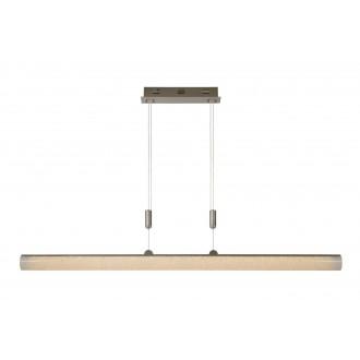 LUCIDE 36415/30/67 | Granel Lucide visilice svjetiljka balansna - ravnotežna, sa visinskim podešavanjem 1x LED 2400lm 2700K krom, prozirna