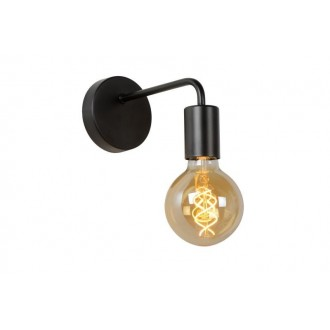LUCIDE 45265/01/30 | Scott Lucide zidna svjetiljka 1x E27 crno