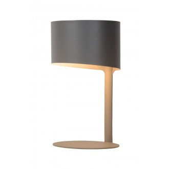 LUCIDE 45504/01/36 | Knulle Lucide stolna svjetiljka 28,5cm 1x E14 sivo