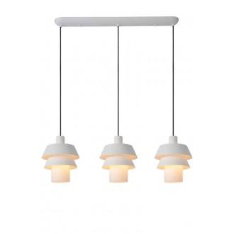 LUCIDE 70481/03/31 | Jaden-LU Lucide visilice svjetiljka s mogućnošću skraćivanja kabla 3x E27 bijelo
