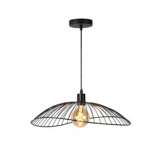 LUCIDE 72403/50/30 | Jing Lucide visilice svjetiljka s mogućnošću skraćivanja kabla 1x E27 crno
