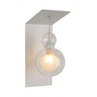 LUCIDE 77270/01/31 | Mads Lucide zidna svjetiljka 1x G9 bijelo, prozirno