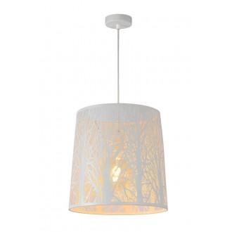 LUCIDE 78481/35/31 | Garell Lucide visilice svjetiljka s mogućnošću skraćivanja kabla 1x E27 bijelo