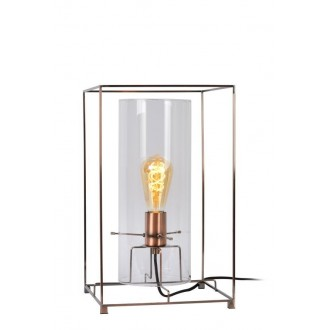 LUCIDE 78586/01/17 | Julot Lucide stolna svjetiljka 40cm 1x E27 bronca