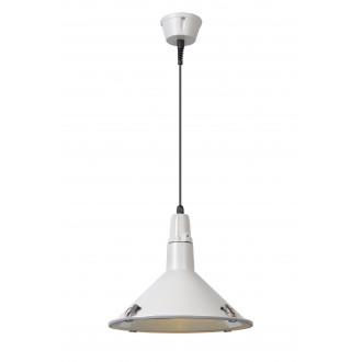 LUCIDE 79459/25/31 | Tonga Lucide visilice svjetiljka 1x E27 IP44 bijelo, prozirno