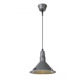 LUCIDE 79459/25/36 | Tonga Lucide visilice svjetiljka 1x E27 IP44 sivo, prozirno