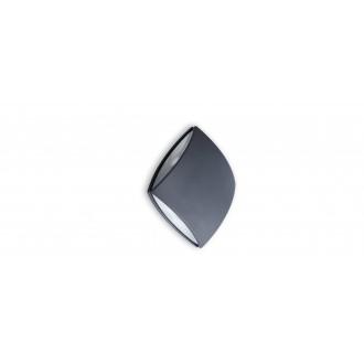 LUTEC 5186902118 | Pilo Lutec zidna svjetiljka 1x LED 760lm 4000K IP54 antracit siva, prozirno