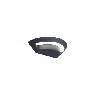 LUTEC 5188003118 | Ghost-LU Lutec zidna svjetiljka 1x LED 360lm 4000K IP54 antracit siva